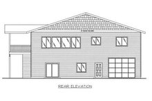 Dream House Plan - Traditional Exterior - Rear Elevation Plan #117-538