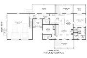 Farmhouse Style House Plan - 4 Beds 3 Baths 2806 Sq/Ft Plan #932-388