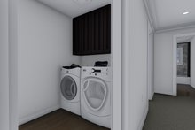 Ranch Interior - Laundry Plan #1060-13