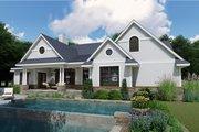Farmhouse Style House Plan - 3 Beds 2.5 Baths 2787 Sq/Ft Plan #120-257 Exterior - Rear Elevation