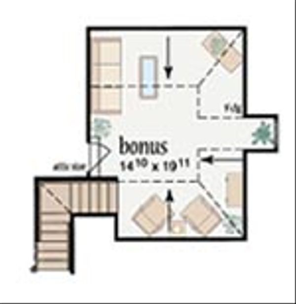 Traditional Floor Plan - Other Floor Plan Plan #36-210
