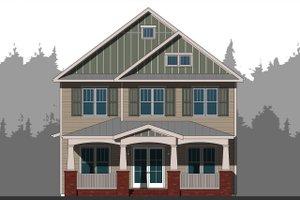 Craftsman Exterior - Front Elevation Plan #461-63