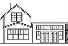 Home Plan - European Exterior - Rear Elevation Plan #124-363