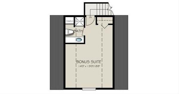 Ranch Floor Plan - Other Floor Plan Plan #18-2004