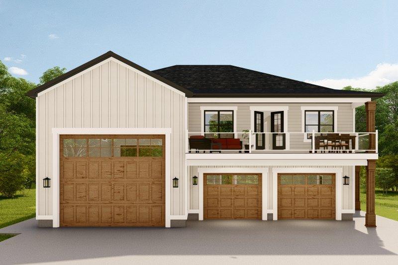 House Design - Farmhouse Exterior - Front Elevation Plan #1060-123