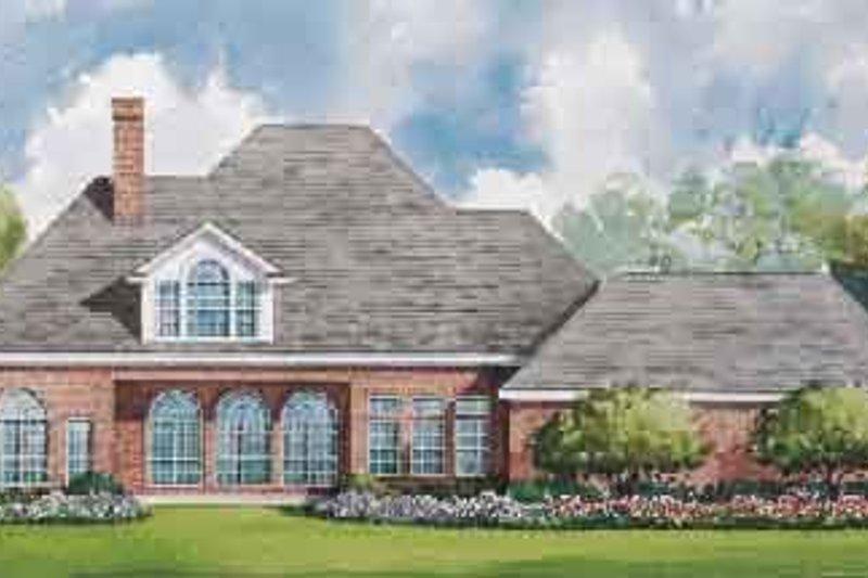 Southern Exterior - Rear Elevation Plan #20-1189 - Houseplans.com