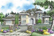 House Plan Design - European Exterior - Front Elevation Plan #930-259