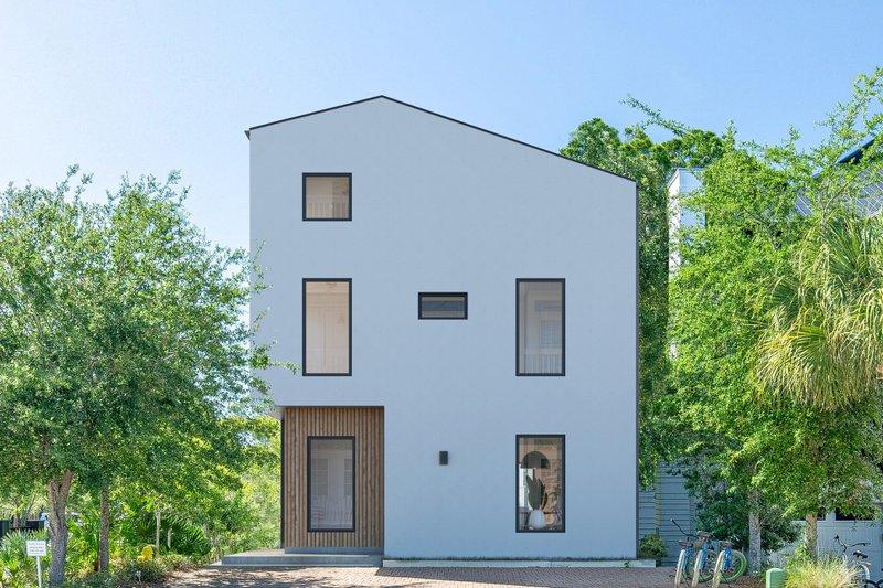 Home Plan - Modern Exterior - Front Elevation Plan #1076-3