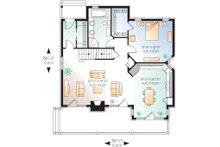 Cottage Floor Plan - Main Floor Plan Plan #23-2047