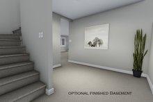 House Design - Optional Basement Hall