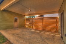 House Design - Contemporary Exterior - Outdoor Living Plan #932-7