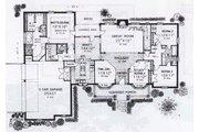 Farmhouse Style House Plan - 3 Beds 2.5 Baths 2496 Sq/Ft Plan #310-834 Floor Plan - Main Floor