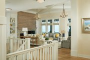 Ranch Style House Plan - 4 Beds 5 Baths 4938 Sq/Ft Plan #928-293 Interior - Family Room