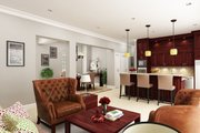 Southern Style House Plan - 3 Beds 3 Baths 1792 Sq/Ft Plan #45-572