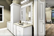House Design - Bungalow Interior - Master Bathroom Plan #44-238