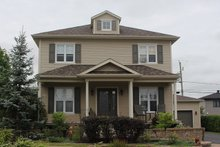 Home Plan - Colonial Exterior - Front Elevation Plan #23-261