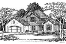 Traditional Exterior - Front Elevation Plan #70-409