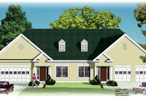 Traditional Exterior - Front Elevation Plan #26-118