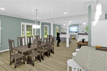 Architectural House Design - Traditional Interior - Dining Room Plan #44-250