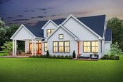 Farmhouse Style House Plan - 4 Beds 3.5 Baths 2944 Sq/Ft Plan #48-982 Exterior - Rear Elevation