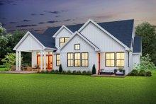 Dream House Plan - Farmhouse Exterior - Rear Elevation Plan #48-982