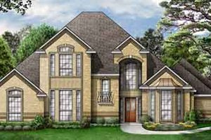 Traditional Exterior - Front Elevation Plan #84-172