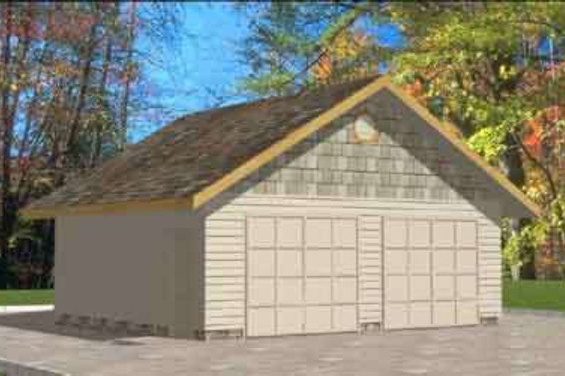 Traditional Exterior - Front Elevation Plan #117-306