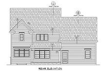 Traditional Exterior - Rear Elevation Plan #20-2319