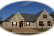 European Style House Plan - 3 Beds 2 Baths 2612 Sq/Ft Plan #81-1266 Exterior - Front Elevation