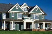 Colonial Style House Plan - 6 Beds 5 Baths 5180 Sq/Ft Plan #48-151 Exterior - Front Elevation