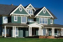 House Design - Colonial Exterior - Front Elevation Plan #48-151