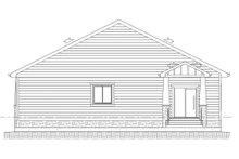 Architectural House Design - Farmhouse Exterior - Rear Elevation Plan #1077-5