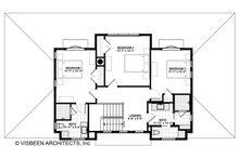 Farmhouse Floor Plan - Upper Floor Plan Plan #928-306
