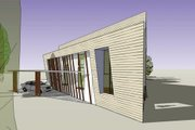 Modern Style House Plan - 3 Beds 3 Baths 3721 Sq/Ft Plan #467-2 Exterior - Other Elevation