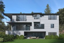Architectural House Design - Modern Exterior - Rear Elevation Plan #1066-84