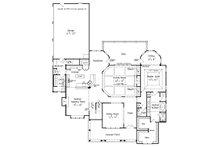 Craftsman Floor Plan - Main Floor Plan Plan #927-5