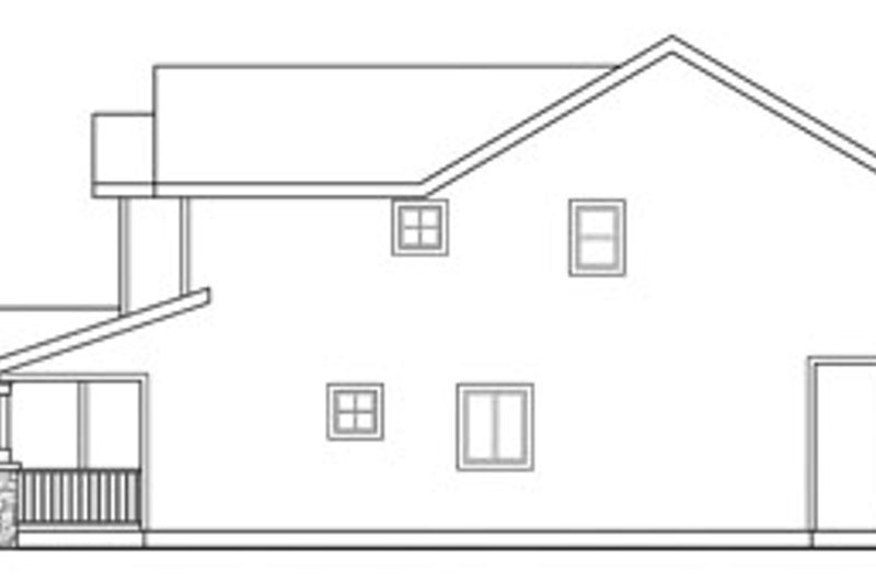 Exterior - Other Elevation Plan #124-814 - Houseplans.com