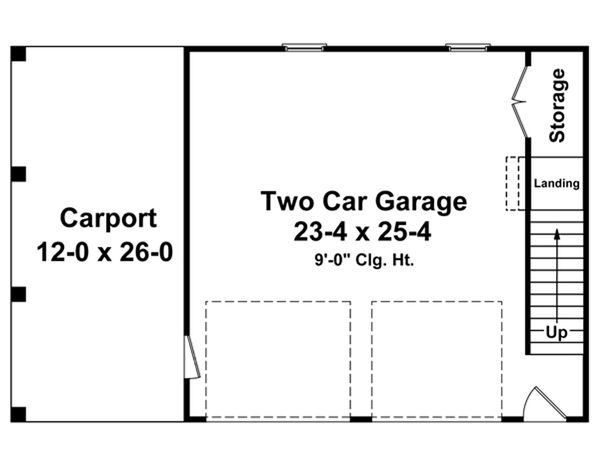 Home Plan - Traditional Floor Plan - Main Floor Plan #21-337