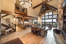 House Plan Design - Craftsman Interior - Family Room Plan #892-16