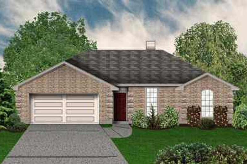 Traditional Exterior - Front Elevation Plan #84-112 - Houseplans.com