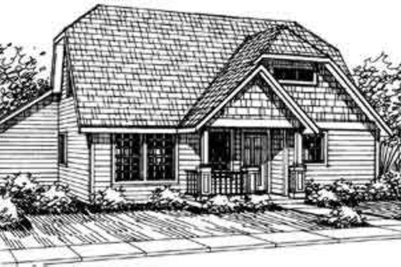 Home Plan - Traditional Exterior - Front Elevation Plan #124-307