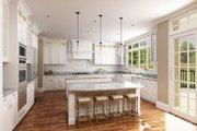 European Style House Plan - 4 Beds 4.5 Baths 3302 Sq/Ft Plan #119-432 Interior - Kitchen