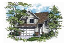 Dream House Plan - Traditional Exterior - Other Elevation Plan #48-136