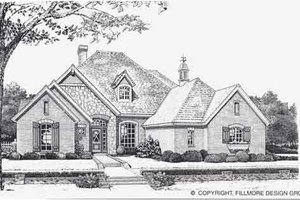 Traditional Exterior - Front Elevation Plan #310-838