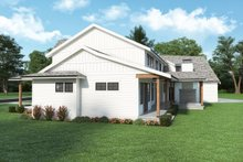 House Plan Design - Farmhouse Exterior - Other Elevation Plan #1070-135