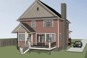 Country Style House Plan - 3 Beds 2.5 Baths 2301 Sq/Ft Plan #79-262 Exterior - Other Elevation