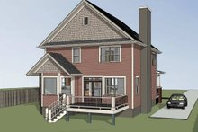Dream House Plan - Country Exterior - Other Elevation Plan #79-262