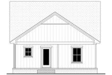 House Plan Design - Farmhouse Exterior - Rear Elevation Plan #430-254