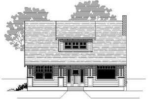 Traditional Exterior - Front Elevation Plan #423-23