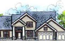 Home Plan - Craftsman Photo Plan #70-623